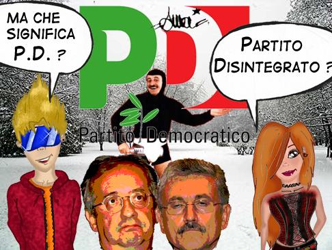 Una vignetta che esprime la situazione del pd attuale for Deputate pd donne elenco